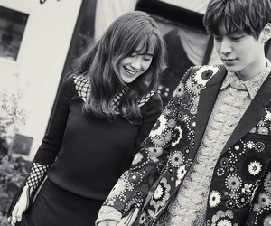 couple, ahn jae hyun, and goo hye sun image