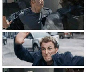 Marvel, captain america, and funny image