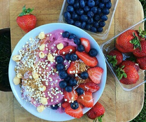 food, workout, and breakfast image