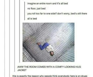amazing, bed, and funny image