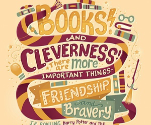 book, harry potter, and friendship image