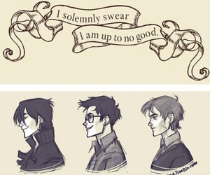 fanart, the marauders, and harry potter image