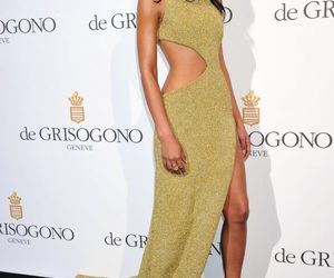 Chanel Iman, dress, and fashion image