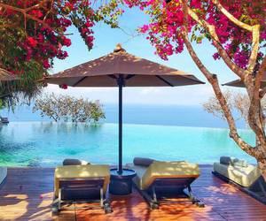 summer, luxury, and paradise image
