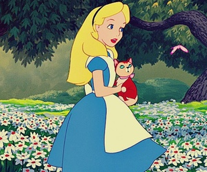 alice, disney, and alice in wonderland image