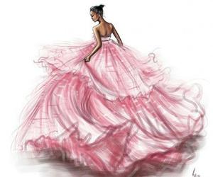 pink, dress, and rihanna image
