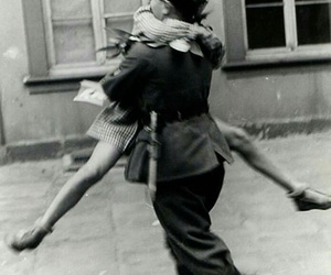 love, black and white, and vintage image