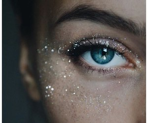 girl, glitter, and shine image