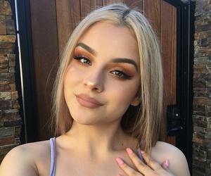 girl, makeup, and goals image