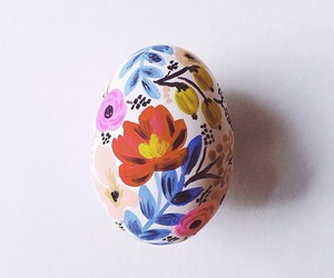 art, easter eggs, and colorful image
