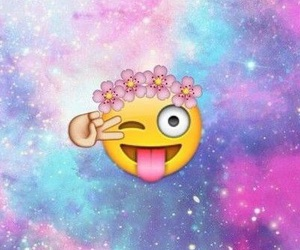 emoji and galaxy image