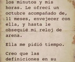 love, tiempo, and frases image