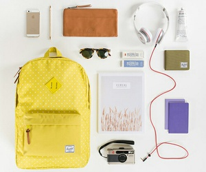 aesthetic, backpack, and camera image