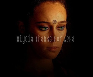 lexa, the 100, and alycia debnam-carey image