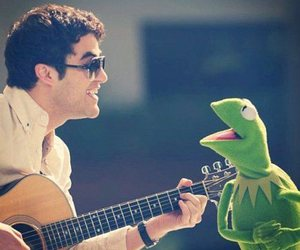 darren criss, kermit, and photography image