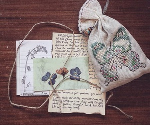 Letter, snail mail, and vintage image