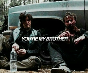 bromance, norman reedus, and the walking dead image