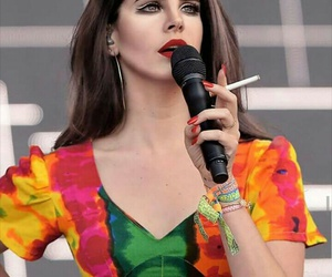 indie, lana del rey, and cigarette image