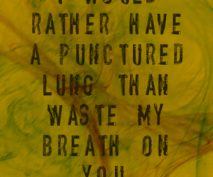 Lyrics, manchester orchestra, and typography image
