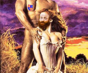 game of thrones, tormund, and brienne image