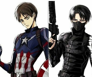 anime, yaoi, and eren jaeger image
