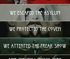 ahs, american horror story, and asylum image