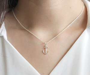 accessories, anchor, and dainty image