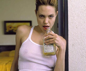 alcohol, Angelina Jolie, and indie image
