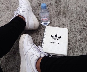 adidas, water, and aesthetic image