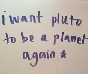 planets, pluto, and tumblr image