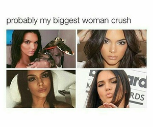 crush, girl, and kendall jenner image