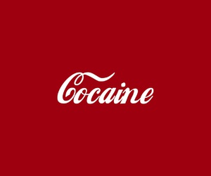 aesthetic, cocaine, and red image