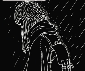 backpack, black, and cry image