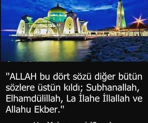 islam, musluman, and türkçe sözler image