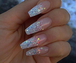 nails, ♥, and cute image