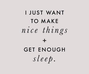 quote and sleep image