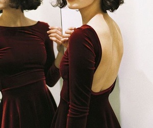 dress and velvet image