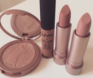 makeup, lipstick, and NYX image