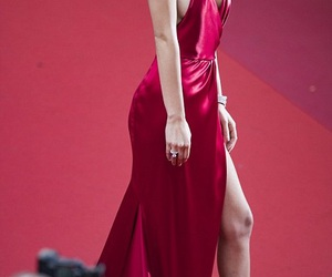 cannes, fashion, and red image