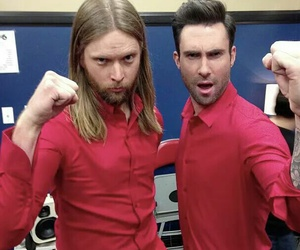 Hot, maroon 5, and sexy image