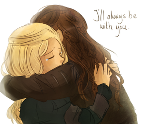 lexa, clarke griffin, and clexa image