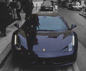 car and black image
