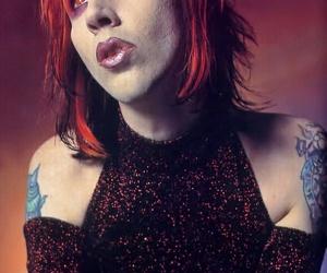 alternative, goth, and Marilyn Manson image