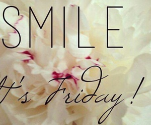 beautiful, smile, and friday image