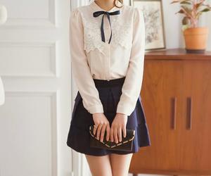 girly, pink, and skirt image