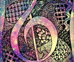colores, dibujos, and galaxy image