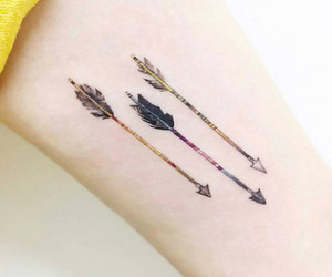 arrow, tatoos, and tattoo image
