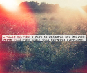 quote, memories, and words image