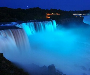 azul, night, and water image