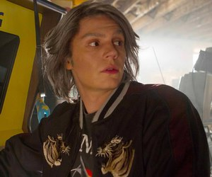 evan peters, quicksilver, and Marvel image